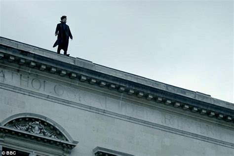 back tattoo man jumping off building sherlock twitter fans react as rooftop plunge mystery is