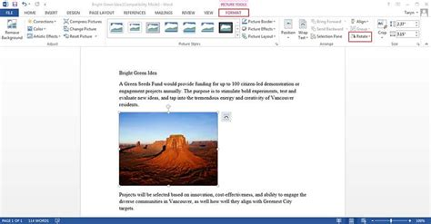 Rotate Word Document how to rotate a picture in word wondershare pdfelement