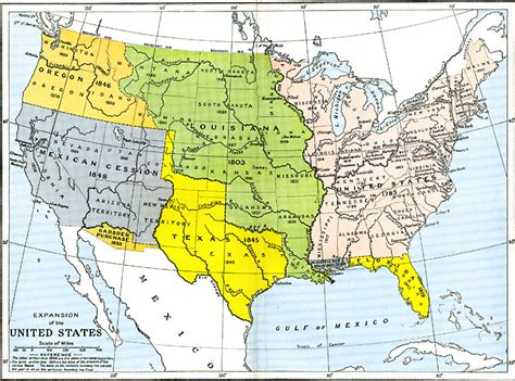 expansion of the united states map expansion of the united states