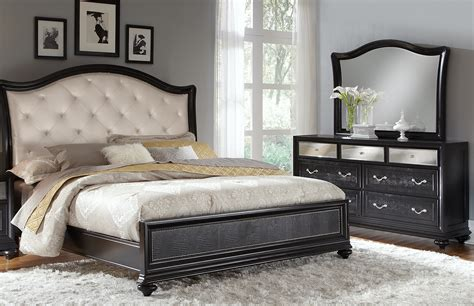 king bedroom furniture set marilyn 5 pc king bedroom value city furniture