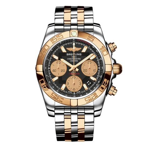breitling chronomat 44 gold and stainless steel