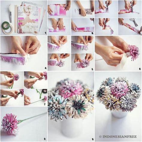 cara membuat bunga dari kertas atau plastik 8 kreasi renovasi kamar yang unik dari barang bekas yang