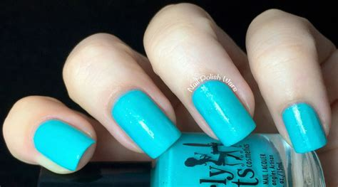 Swatch Girly nail wars girly bits swatch review