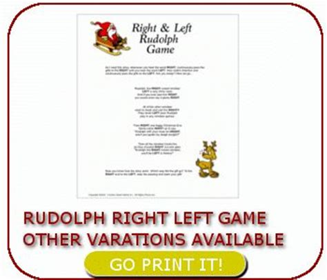 left right christmas game holiday pinterest