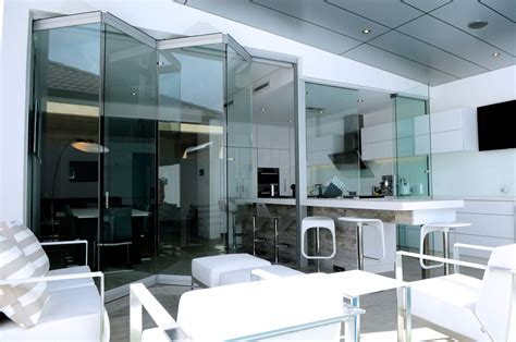 Frameless Bi Fold Glass Doors Frameless Bi Fold Doors Avanti