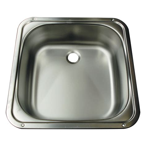 stainless steel rv bathroom sink smev square stainless steel sink caravan rv cing