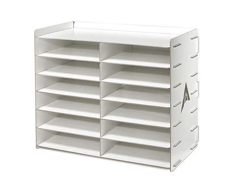 paper sorter shelves adiroffice wood 12 compartment paper literature organizer sorter ebay