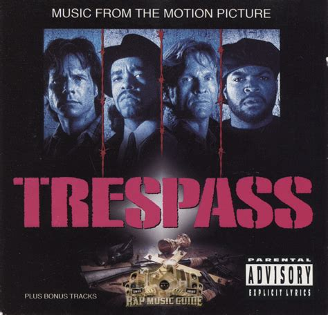 trespass on the trespass from the motion picture soundtrack cd