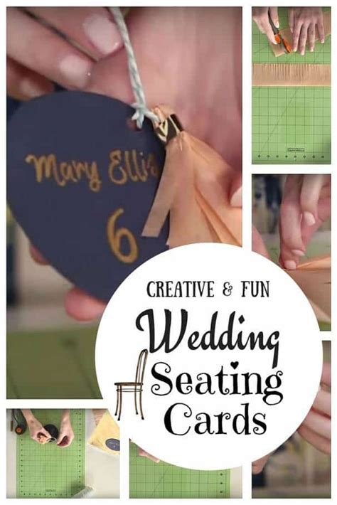 10 special diy wedding guest cards and seating diy wedding seating cards a creative way to guide guests to their tables inspired