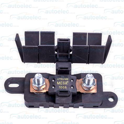 Fridge Mega Set flex mega fuse holder kit dual battery batteries system