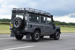 land rover defender 110 adventure pictures auto express