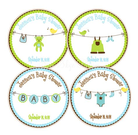 templates for baby shower favor tags search results for baby shower favor tags template free