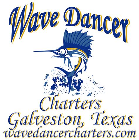 charter boat galveston galveston fishing charters wave dancer charters