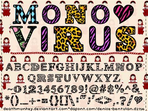 dafont virus denne monovirus by deathmunkey on deviantart