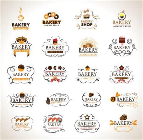 free bakery logo templates creative bakery logos design vector material 02