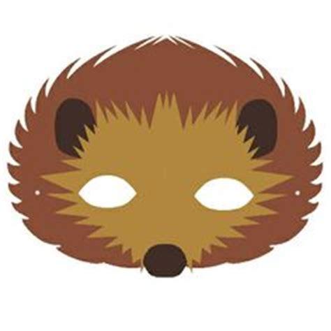 printable echidna mask 1000 images about masks on pinterest hedgehogs mask