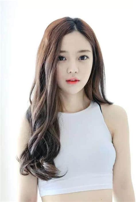 kpop curl perm middle hair 女生最新桃花运发型图片 22p 发型图片网