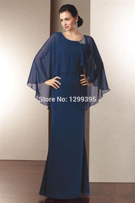 Handmade Plus Size Clothing - chiffon navy blue of the dresses plus