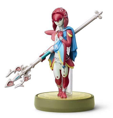 Amiibo Mipha The Legend Of Breath Of The e3 2017 four chion amiibo defend hyrule in breath of the nintendo insider