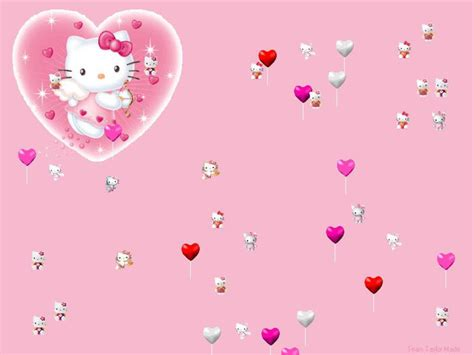 hello kitty quote wallpaper hello kitty love quotes quotesgram