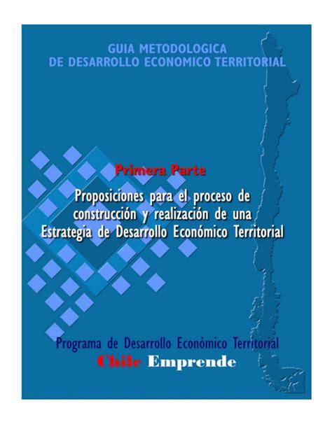 cadenas productivas relacionadas al turismo guia de desarrollo territorial parte 1