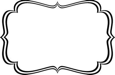 black and white label templates label template pinteres