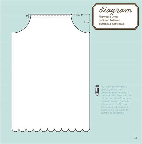 armhole template for pillowcase dress the world s catalog of ideas
