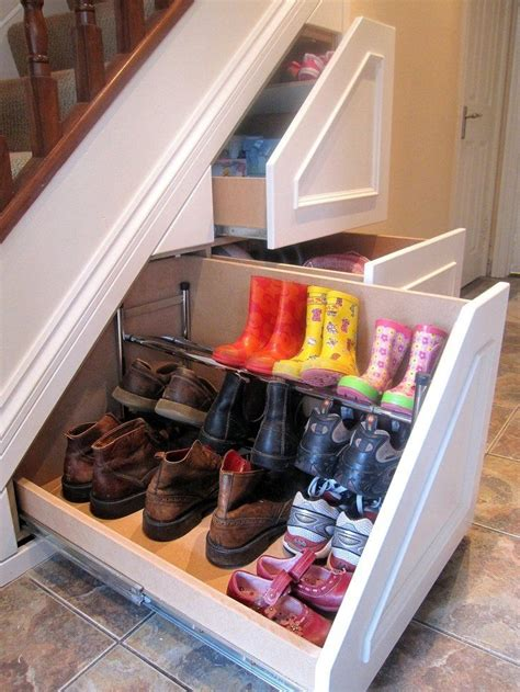 under the stairs storage schoenenlade onder trap home sweet home pinterest