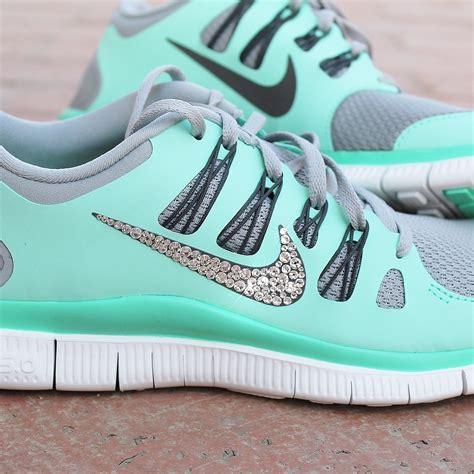 nike sparkle running shoes s nike free 5 0 w swarovski rhinestones