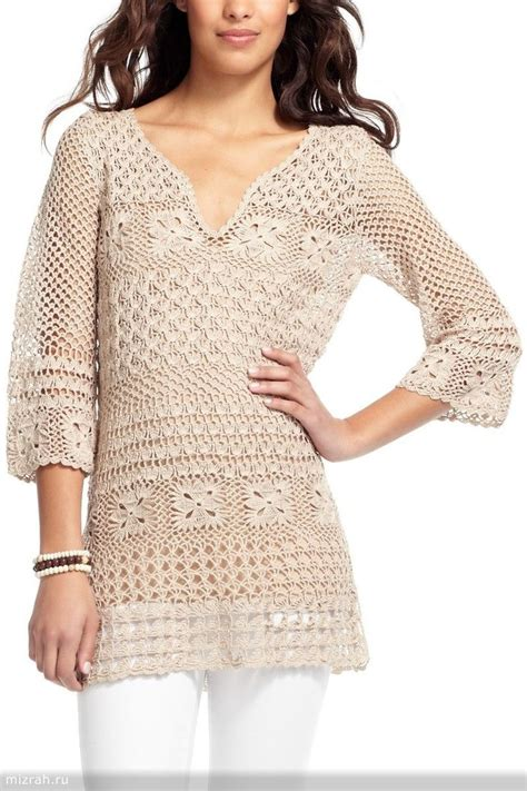 Terre Tunik 1381 best images about crochet clothes on