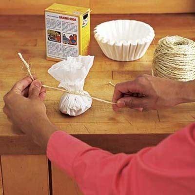 diy shoe odor eliminator to eliminate odor in shoes make a sachet with baking soda
