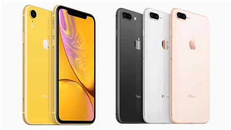 iphone 8 vs iphone xr iphone xr vs iphone 8 plus what is the difference macworld uk