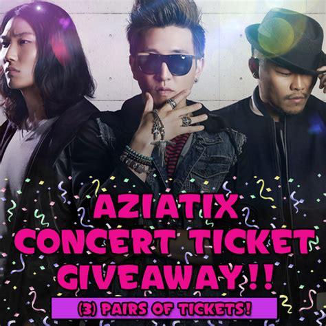 Concert Ticket Giveaway - ticket giveaway aziatix corolla ready concert ticket giveaway nutty nomads