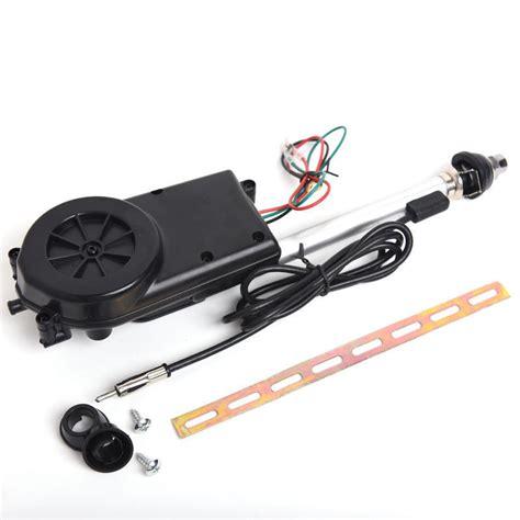 power antenna am fm radio mast replacement kit oem car signal booster aerial 12v ebay