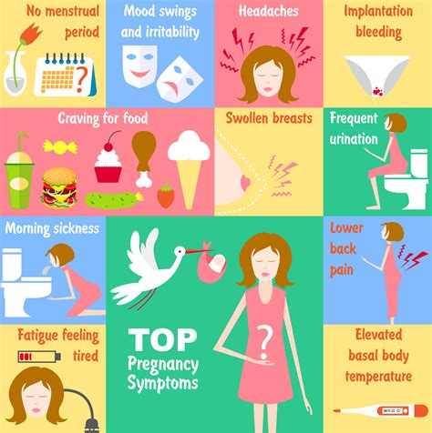 signs  pregnancy baby  brand