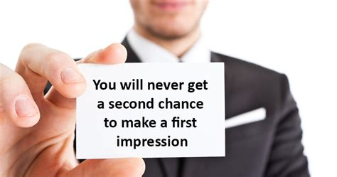 7 Ways To Make A Impression At An by You Will Never Get A Second Chance To Make A