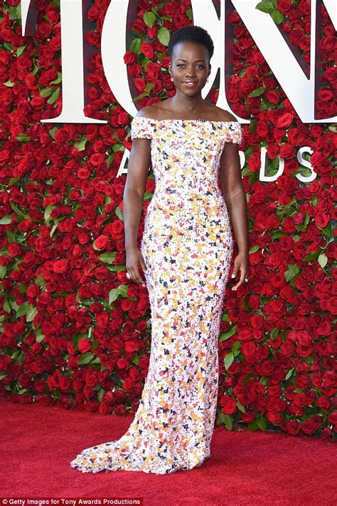 Pattern Lupita Dress jourdan dunn is an absolute vision at 2016 tony awards carpet daily mail
