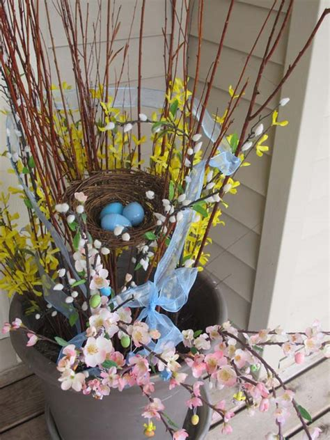 easter decoration 29 cool diy outdoor easter decorating ideas amazing diy