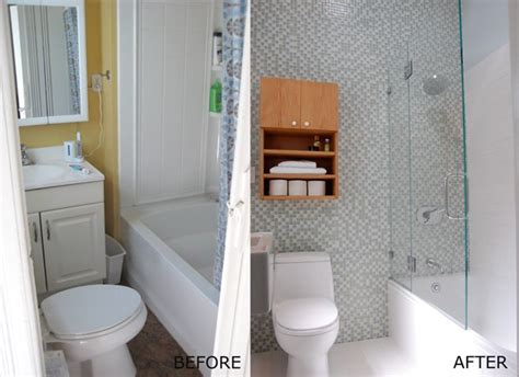 bathroom remodels before and after pictures small bathroom remodels before and after
