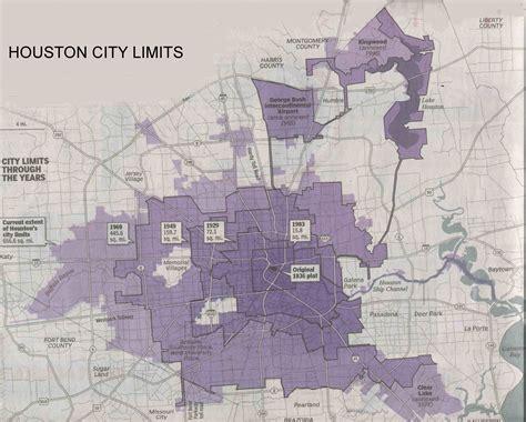 houston map city limits houston annexation thru the years real estate houston