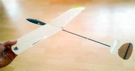 micro flingshot mini dlg rc glider hand launch model