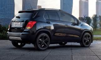 2016 chevy trax gets blacked out midnight edition