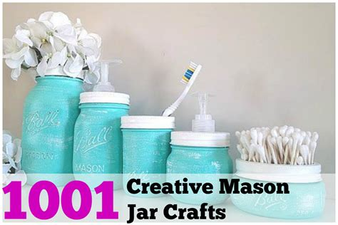 Mason Jar Home Decor Ideas by 1001 Diy Mason Jar Crafts Diy Cozy Home