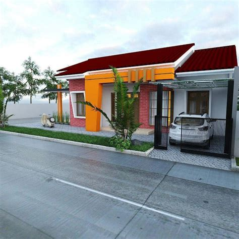 desain jalan depan rumah 18 gambar rumah minimalis tak depan lahan sempit