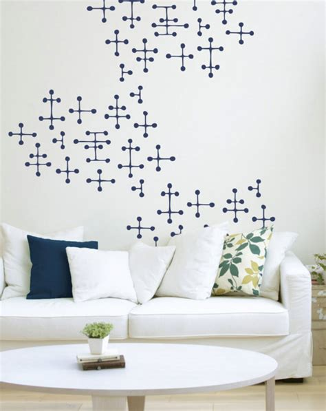eames dot pattern rug charles ray eames style dot pattern wall decals mid