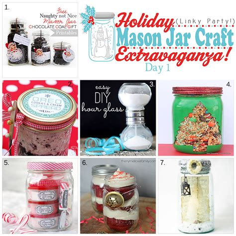 holiday mason jar craft inspiration yesterday on tuesday