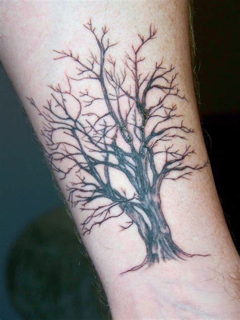 oak tree tattoo tree a photo on flickriver