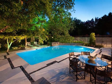 Before And After A Modern Backyard Garden And Pool Backyard Up Pools