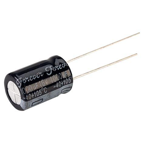 samxon 1000uf 16v capacitor forever 1000uf 20 16v 105 176 c p 5mm radial electrolytic capacitor rapid