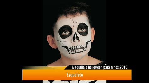 imagenes de maquillaje halloween para niños maquillaje halloween para ni 241 os 2017 youtube